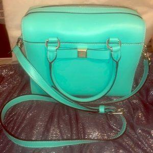 Kate Spade Aqua purse. Pristine.